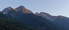 Sunset on the mountains (Dzoyiro) Tags: valledaosta mont emilius nus saint marcel aostavalley italy alps alpi mountains sunset coucherdusoleil alpes valléedaoste vallée daoste landscapes