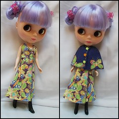 a new set of clothes i made the other day  i think Thistle like them  ^_^