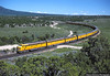 Streamliner in Tintic Valley (jamesbelmont) Tags: locomotive e9a lofgreen utah passenger nrhs