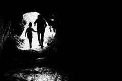 Dipnaysupuan Japanese Tunnel (Meljoe San Diego) Tags: meljoesandiego fuji fujifilm x100f silhouettes blackwhite highcontrast monochrome batanes philippines