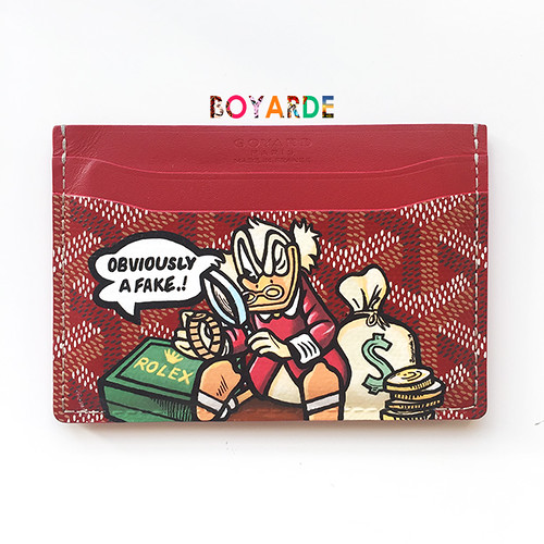 goyard mc scrooge red goyard copy
