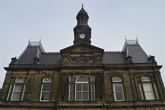 The Town Hall (CoasterMadMatt) Tags: buxton2017 buxton town towns spatown englishtowns townhall hall clocktower clock tower building structure architecture derbyshire derbs eastmidlands england britain greatbritain gb unitedkingdom uk march2017 winter2017 march winter 2017 coastermadmattphotography coastermadmatt photos photographs photography nikond3200