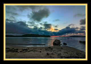 Lake Lanier, GA Sunrise using ND filters (6555)