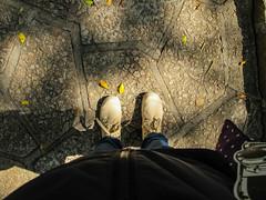Keep Walking. The Best is yet to come. (ThisisMandyC) Tags: footsteps hongkong tsuenwan samtungukmuseum canonpowershotg11