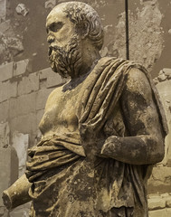 "Hellenistic Delphi V – The so-called Philosopher (egisto.sani) Tags: delfi museo ""the philosopher"" ""il filosofo"" ""primo ellenistico"" ""greek art"" ""arte greca"" ""early hellenistic period"" period periodo phocis focide delphi ""archaeological museum"" ""museo archeologico"""