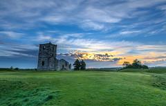 Knowlton Morning (nicklucas2) Tags: henge knowlton relic church sunrise cloud landscape