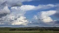 Stormy Clouds 2 (stevedewey2000) Tags: sonyrx10 cloudscape skyscape landscape wiltshire salisburyplain cumulonimbus cumulus showerclouds showers clouds cloud rainclouds stormy storm anvilhead 169