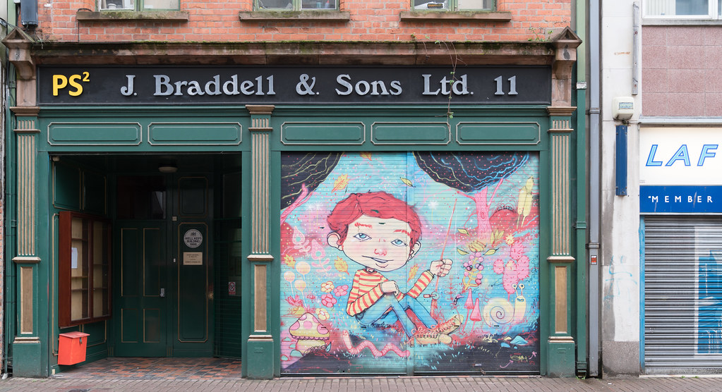 STREET ART AND GRAFFITI IN BELFAST [ANYTHING BUT THE FAMOUS MURALS]-129156