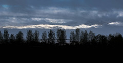New Snow (bigvern) Tags: bigvern canon 7dii denver colorado landscape winter snow silhouette mountains sunrise storm