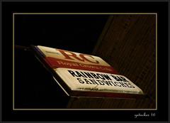 Royal Crown Cola (the Gallopping Geezer '4.8' million + views....) Tags: sign signs signage adadvertise advertisement product royalcrown cola drink pop soda beverage owosso mi michigan night nightshot dark rc canon 5d3 gezzer 2016 rainbowbar bar tavern pub