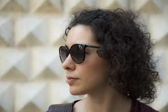 Vi. (LucaBertolotti) Tags: profilo portrait ritratto beauty girl woman sunglasses ferrara emiliaromagna italia italy world people palazzodeidiamanti
