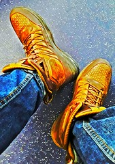 My huge asked size 16 Nike Superdome boots... (HyperdunkLust) Tags: nike superdome boot