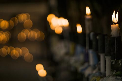 Hundreds of prayers