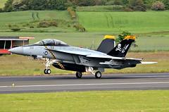 Super Hornet (Allan Durward) Tags: fa18f usnavy hornet superhornet pik egpk prestwick airport prestwickairport glasgow scotland
