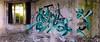 Weis_ATG (blairniemichelle) Tags: art ambiance aerosol atg abandonee abandone abstrait amwa abstract explore entrepot explorer entrée entrance 3d exterior e exterieur entremêlé rouille tag tags terrain urbex underground mur lumière idf incendie industrial paint panoramique paris painting sombre decay degrade detail dégradé fenetre graff g graffiti green light moisissure windows wall window blue bleu vert nature
