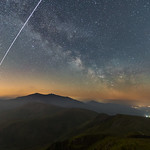 'ISS & Milky Way Over Snowdon' thumbnail