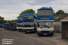 Step along the line (Bluke's Photography) Tags: stagecoach north west 16793 16119 16640 volvo olympian alexander alx rh nc northern counties palatine 1 b10m ps gold adl enviro 300 e300 carlisle bus depot