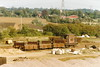 19920831 Hitchin. Sidings South Of The Station Host Three Unidentified 20T Open GRAMPUS ZBO ZBV And A BR 20T Brake Van CAO ZTO (15038) Tags: wagon goods freight railways trains br britishrail hitchin track sidings unidentified brakevan grampus 20topen