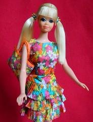 VINTAGE MOD PJ TNT BARBIE DOLL w/ BOUNCY FLOUNCY OUTFIT (laika*2008) Tags: vintage mod pj tnt barbie doll w bouncy flouncy outfit mattel japan fashiondoll barbies friend