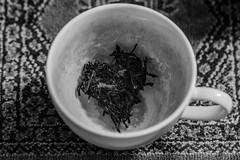 (C-47) Tags: tea noiretblanc noirblanc noir blackwhite blackandwhite cup composition themed teachip pareidolia wonderful funny light shadows