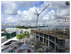 Mt. Sinai Medical Center Expansion — Miami Beach, FL (fotoJENica) Tags: buildings miami beach construction expansion hospital workers labor