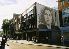 Exeter, Devon, UK (Marian Si) Tags: uk film analog analogue 35mm kodakfotowelt200 architecture devon exeter southwestengland street art