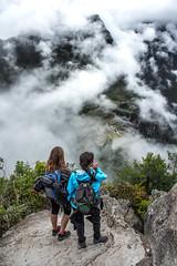 Machu Picchu from Above (matiasrquiroga) Tags: amazing beautiful clouds machu picchu huayna view travel tour trip south america latinoamerica peru ruins inca staring landscape paisaje montaña mountain nubes fog niebla vista increíble hermoso