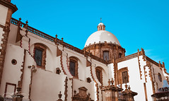 Neoclassic Fassade (Daniel Cabrera Photography) Tags: cabrera camera color copyright daniel danielcabrera day digital flickr image lens life light mexico model nikon photo photography portfolio professional raw shadows work 2017 danieljamescabrera fassade facade temple cathedral beautiful architecture building quarry intense contrast dome balustrade zamora town immaculate shapes geometry noon daylight daytime neoclassic style baroque world earth religious monument landmark church pro angle wide