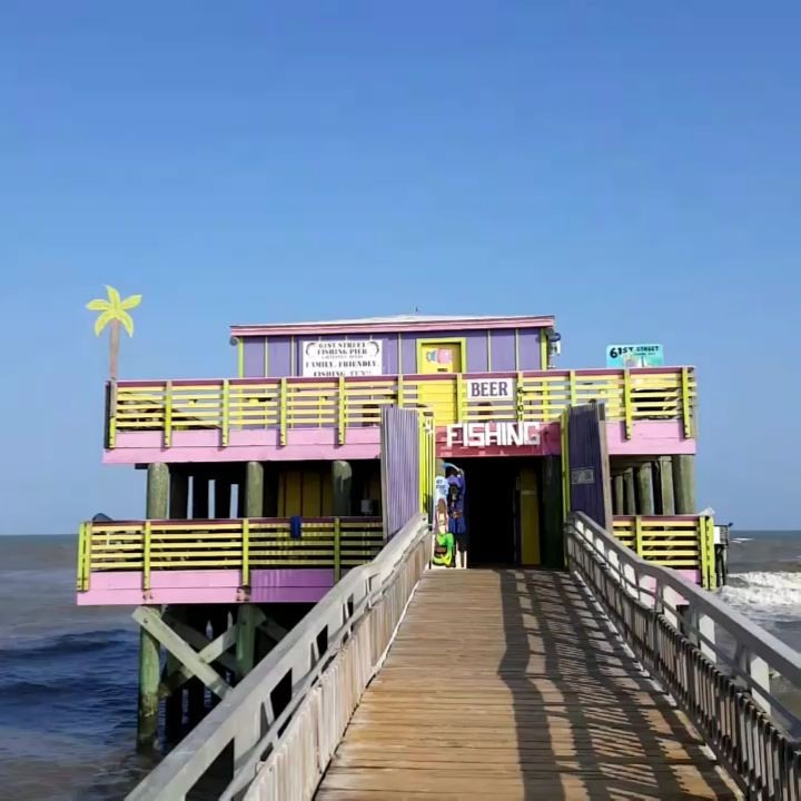 The world 39 s best photos of 61st flickr hive mind for Galveston fishing pier