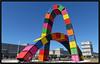 Les arches colorées -  Colored arches