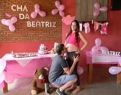 30 semanas (Mááh :)) Tags: chá bebê beatriz grávida gestante pregnant baby tea amor casal love balões decoração varal roupas bolodefralda