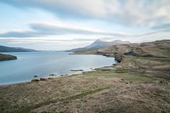 Loch Assynt (Tomasz Urbaszek) Tags: scotland highlands photostrider phototrip nikon d90 primes travel journey landsape longexpousure benro tokina116 wideangle