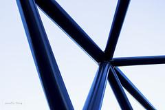 bars 1 (Janelle Tong) Tags: janelle tong photography tony ward studio individual project upenn penn park bridges crosses sky blue structure