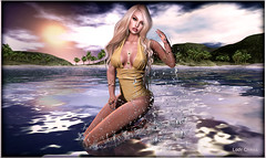 ♥ Eleonor ♥ (ladychrissseyyal) Tags: ♥ eleonor posewetcat summer sun inc 06 poses mirror wetcat buildsposes for tropical fair from june 02 16 swimwear scandalize yulia hairolive pearl hair olive makeuparise laura eyeshadow catwa applier arise whimsical nails tabou diamond pack2 bento maitreya rings meva ring annulary gold forefinger red middlefinger 3 black my gacha store