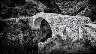 It's called the Devil's Bridge...
