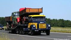 Volvo L495 Titan 1964 (XBXG) Tags: be7263 volvo l495 titan 1964 volvol495 volvotitan a6 nagele noordoostpolder nop flevoland nederland holland netherlands paysbas vintage old classic swedish truck camion vrachtwagen vrachtauto véhicule poids lourd lastkraftwagen lkw lastwagen lastbil vervoer transport vehicle outdoor van den heerik broek op langedijk turbo diesel td trekker oplegger