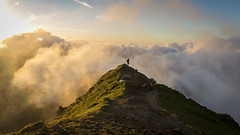 Snowdon Sunrise (RenaldasUK) Tags: canon snowdon snowdonia wales canon6d 247028 sunrise morning sun mountains clouds