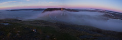 Signal Hill Morning Panoramic (Zach Bonnell) Tags: stjohns newfoundland canada canoneos60d sigma1020f456 panoramic signalhill fog