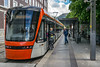 City rail in Bergen (Terje Helberg Photography) Tags: summer bybanen candid cityrail cityenvironement citylife cityscape color colors commuters commuting people railroad station street streetphotography streetlife urban visitbergen visitnorway visithordaland train
