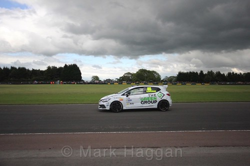Sam Osborne in the Renault Clio Cup during the BTCC weekend at Croft, June 2017