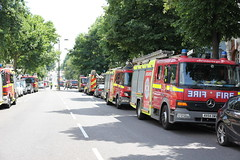 Fire service (ian_fromblighty) Tags: grenfelltower london uk fire tower londonfire kensingtonandchelsea