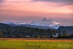 Mount Baker (Chris Parmeter Photography) Tags: landscape mt baker mountain sky clouds sunrise light field church skagit valley spring fuji xt2 18135mm