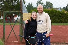 Lovisa och Mats Catoni 2017-06-10 (Michael Erhardsson) Tags: tennis hallsbergs tk htk hallsbergsträffen 2017 mats catoni lovisa