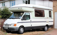 M878 THL (Nivek.Old.Gold) Tags: 1994 ford transit 190 lwb autosleeper amethyst camper 2496cc diesel
