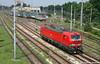 Ferrari in Pole Position! (Massimo Minervini) Tags: e191 e191020 vectron rosso red dbsri db dbschenkerrail lis locomotoreisolato train canon400d cremona