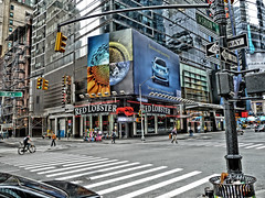 7th (tobymeg) Tags: crossing new york city dragan effect panasonic dmctz10 usa street