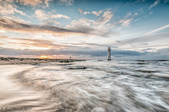 In a rush (Paul-Farrell) Tags: newbrighton perchrock lighthouse seascape rivermersey wirral merseyside longexposure