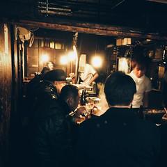 Backstreet Bar (Olly Denton) Tags: backstreet bar eatery restaurant lights customers servers server light grime dirty dirt filth architecture architecturelovers architecturalphotography architecturephotography building iphone iphone6 6 vsco vscocam vscotokyo vscojapan ios apple mac shotoniphone shinjuku tokyo japan 新宿 東京 日本