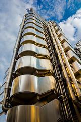 Lloyds of London (mikecleggphotography) Tags: architecture city exterior financialdistrict lloydsoflondon london lowangle outside