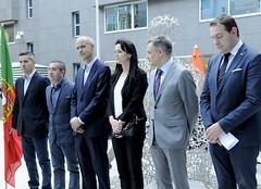 Minut de silenci amb motiu de les victimes dels incendis de Portugal.19-06-2017 (Govern d'Andorra) Tags: portugal autoritats silenci